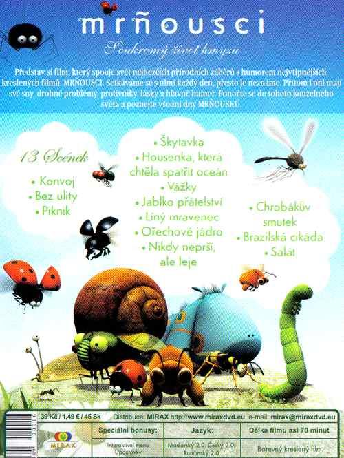 mròousci Soukromý život hmyzu 2