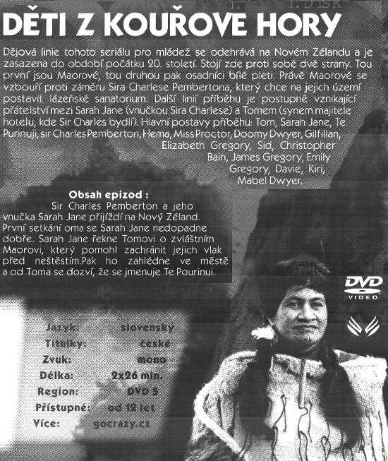 DÌTI Z KOUØOVÉ HORY dvd 1