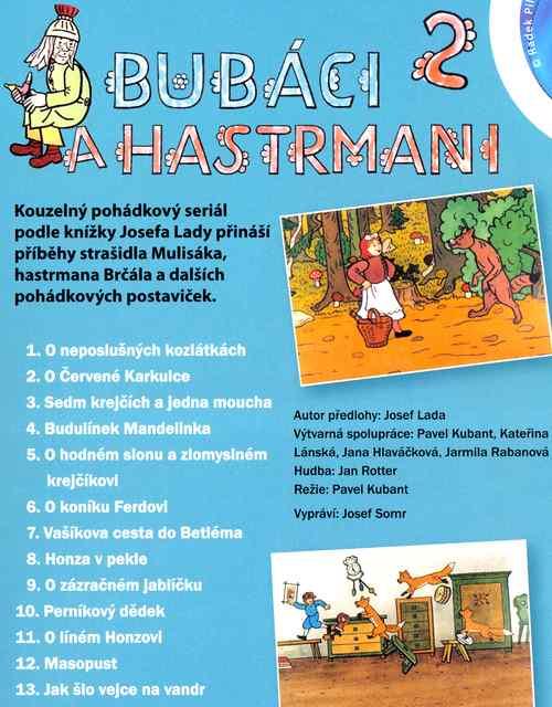 BUBÁCI A HASTRMANI 2