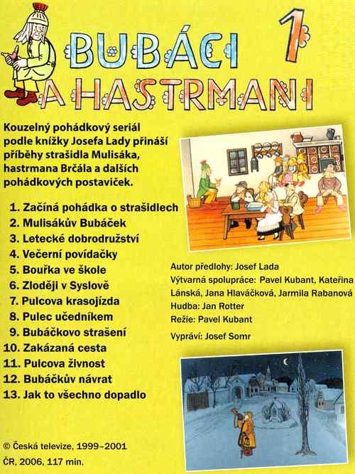 BUBÁCI A HASTRMANI